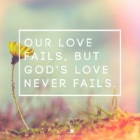 3:16 Church Inspirations - God's Love Never Fails