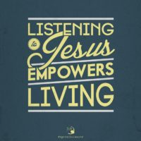 3:16 Church Inspirations - Listening to Jesus