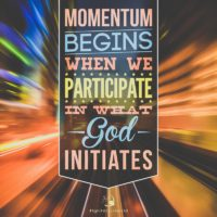 3:16 Church Inspirations - Momentum begins