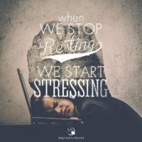 3:16 Church Inspirations - When We Stop Resting