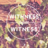 3:16 Church Inspirations - Withness before witness