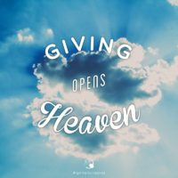 3:16 Church Inspirations - Giving Opens Heaven