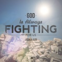 3:16 Church Inspirations - God is always fighting for us!