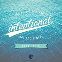 3:16 Church Inspirations - God's love for you is intentional, not accidental