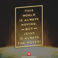 3:16 Church Singapore: Jesus Is The Mover
