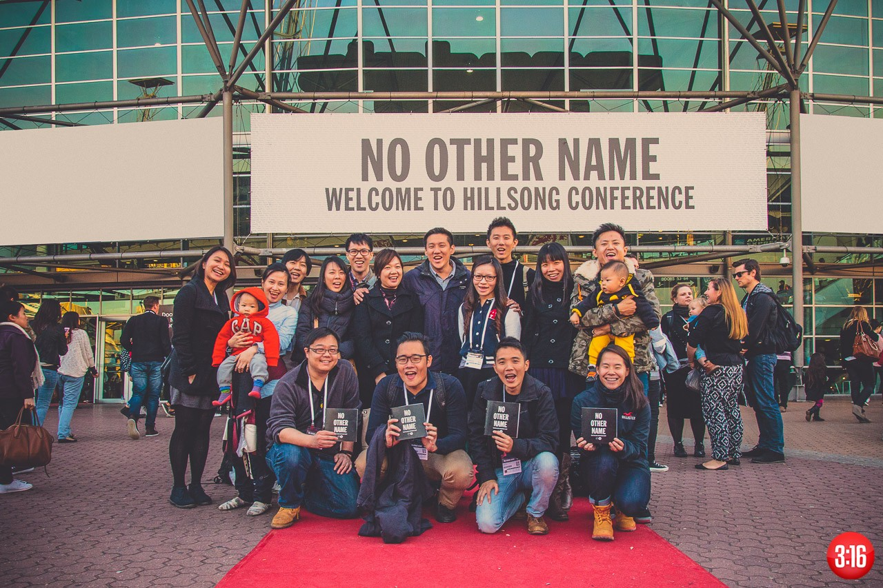 3:16 Church in Hillsong Conference