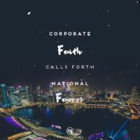 3:16 Church Singapore: National Favour