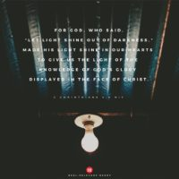 3:16 Church Singapore - 2 Corinthians 4:6