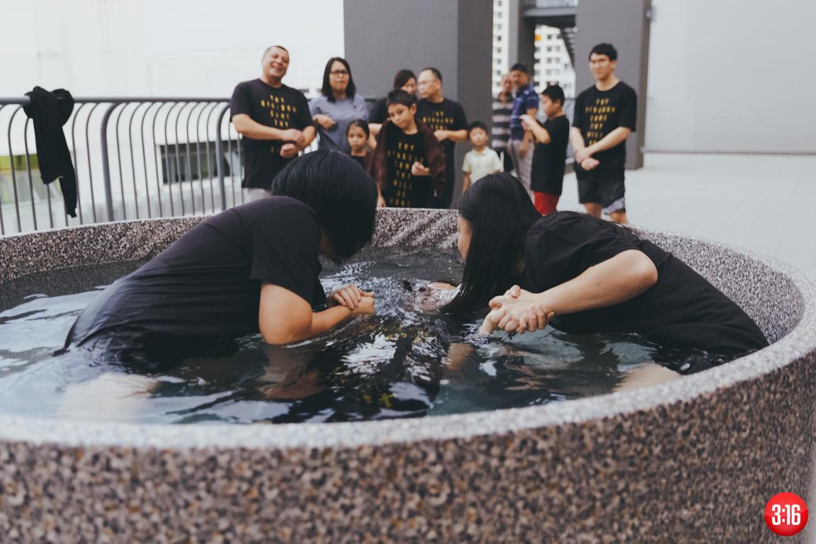3:16 Church Baptism Sunday 2016