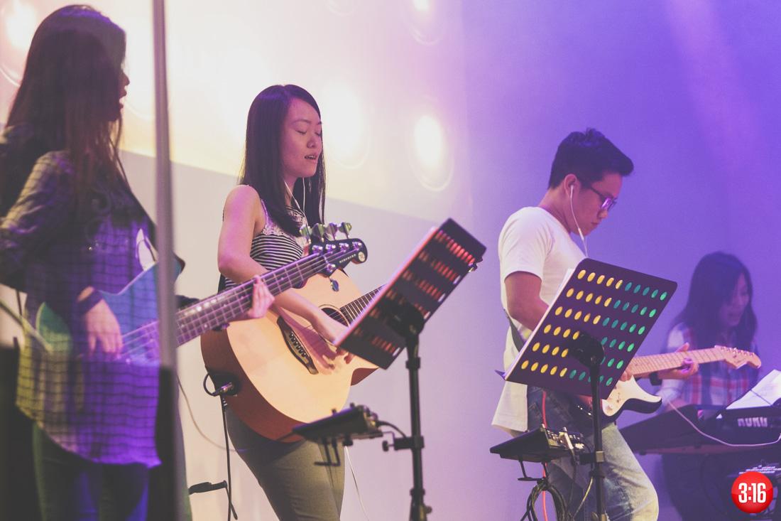 3:16 Church Heart on Strings