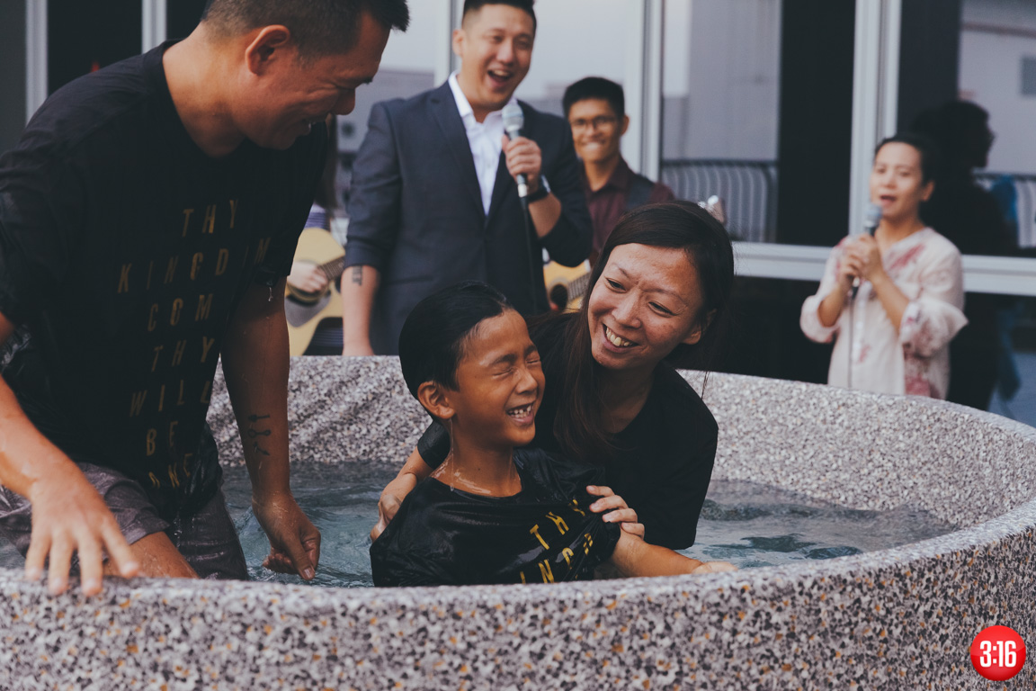 3:16 Church Easter Baptism 2017