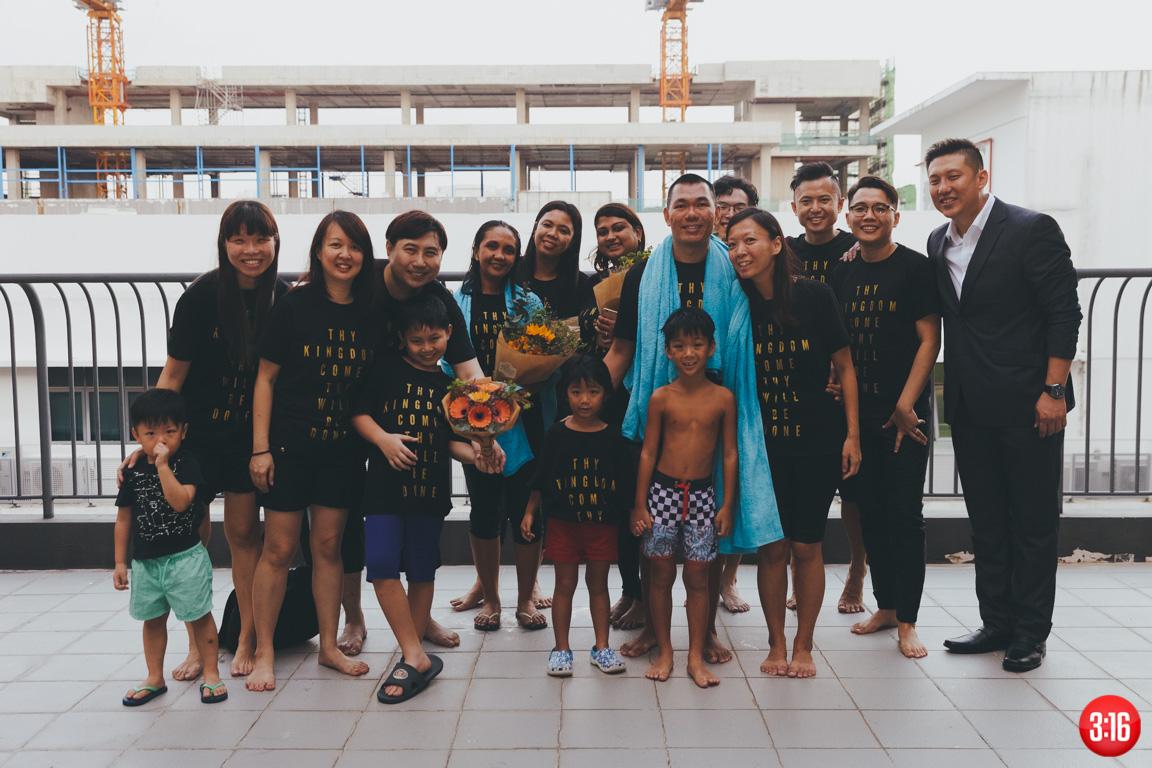 3:16 Church Easter Baptism 2017